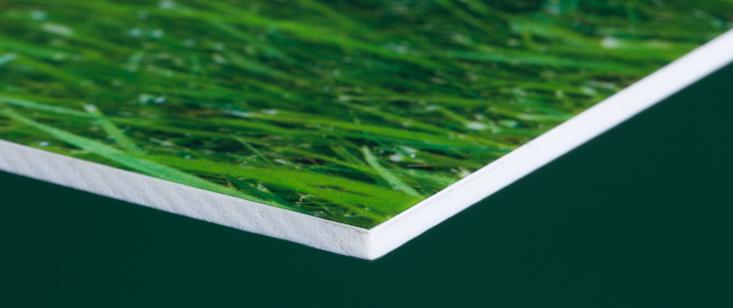Foto auf 3mm Hartschaum-Platte